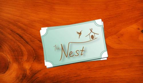 carte de visite the nest
